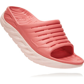 Hoka One One Ora Recovery Slide Sandals Women lantana/pink salt